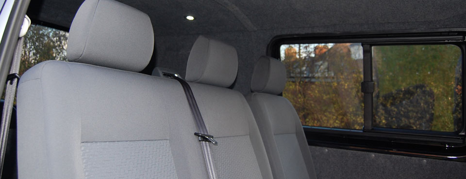 The Best Van Seat Fitting and Rear Van Seat Conversions